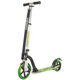 HUDORA Big Wheel City Scooter grün/schwarz